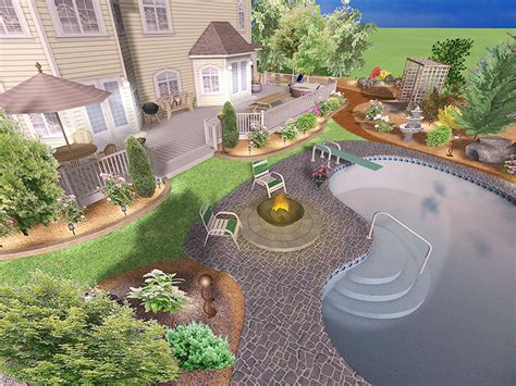 Backyard Landscaping Software by Garden Design Landscape And Garden Design Programs Toronto