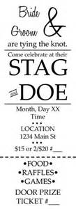 stag tickets template 1000 images about stag and doe on stag and