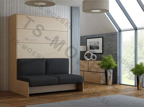 mit wbs wandbett mit sofa wbs 1 classic 160 x 200 cm in buche
