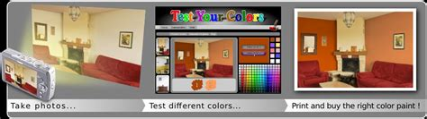 testyourcolors wall painting simulation interior decoration software for wall decoration