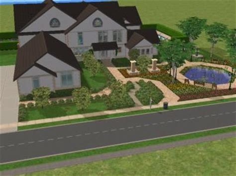 Mod The Sims Luxury Mansion 1 Sims 2 Luxury Homes