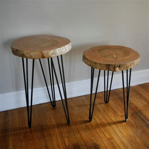 wood table hairpin legs diy end table ideas top 5 easy and cheap projects froy