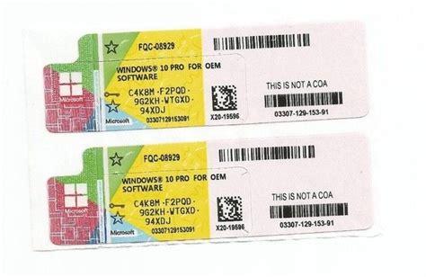 Stiker Mobil Stiker Mobil Universal Code0269 windows product key sticker win 10 pro oem coa x20 activate 64bit