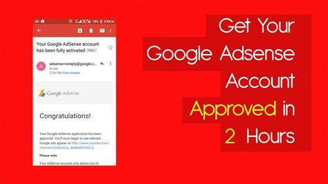 adsense not approved google adsense account approve in 24 hour 100 working