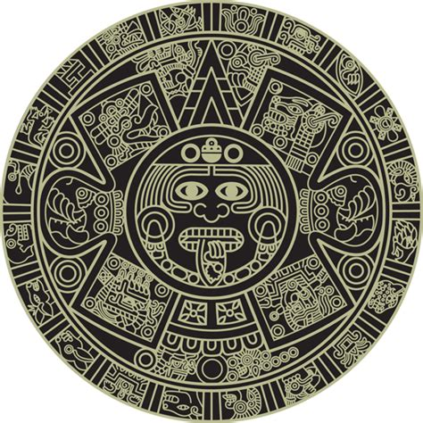 aztec pattern png aztec calendar clipart clipart collection aztec