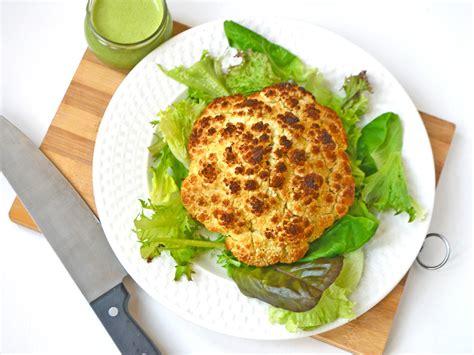 Cooker Kitchen Cauliflower by Whole Roasted Cauliflower One Arab Vegan
