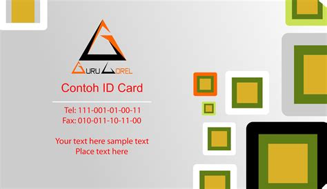 membuat id card dengan coreldraw x7 5 menit membuat id card keren dengan coreldraw tutorial