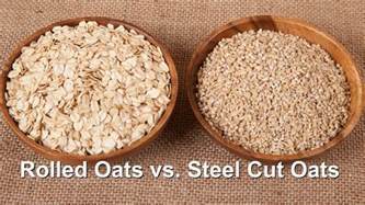 The Difference Between Steel Cut Old Fashioned Quick - what s the difference steel cut vs rolled vs instant oats