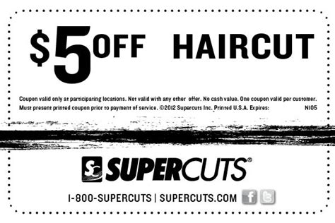 haircut coupons march 2015 haircut coupons 5 off discount deals