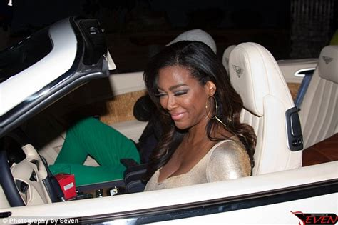 bentley kenya real housewives of atlanta star kenya moore claims she s