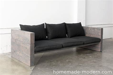 build outdoor couch homemade modern ep70 outdoor sofa