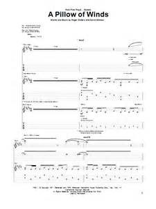 a pillow of winds guitar tab by pink floyd guitar tab