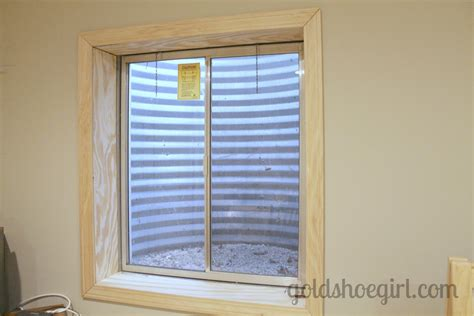 Gold Shoe Girl November 2012 Framing Basement Windows