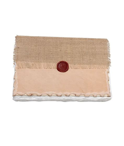 Handmade Cotton Paper - store indya beautiful crafted jute leather diary