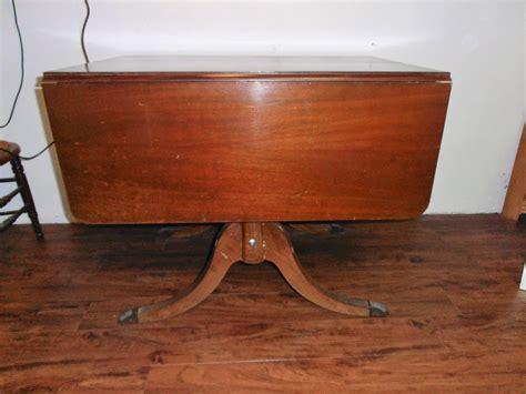 antique drop leaf table value antique duncan phyfe drop leaf dining mahogany wooden