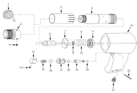 Campbell Hausfeld Pl2534 Parts List And Diagram 1998 08
