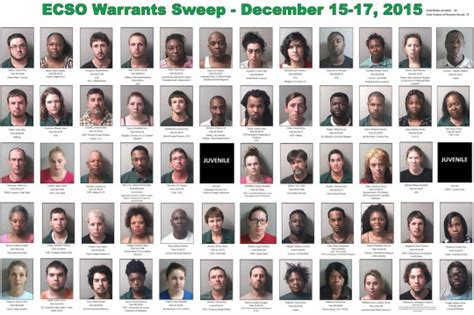 Warrant Search Escambia County Florida 60 Arrested Including Two Murder Suspects In Ecso
