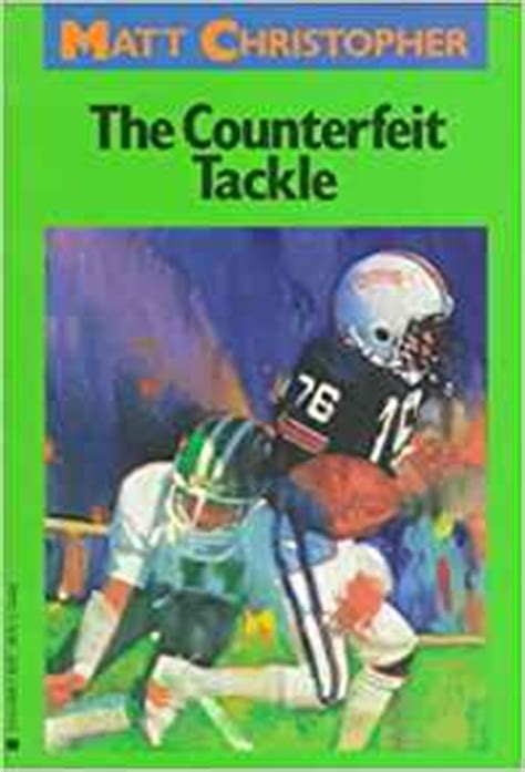 the counterfeiters modern classics 0140024158 amazon com the counterfeit tackle matt christopher