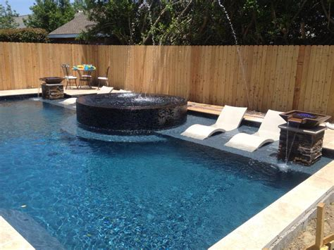 pools with spas pool and spa in metairie by crystal pools crystal pools