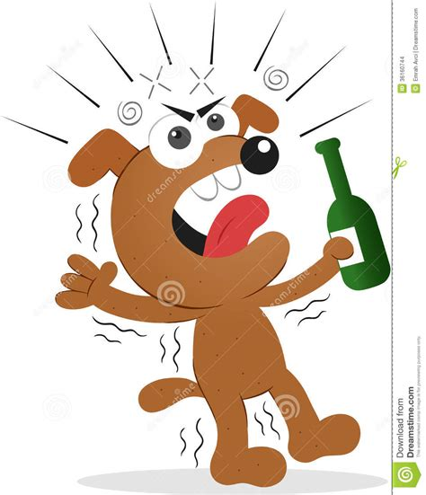 funny beer cartoon drunk dog stock illustration image of doggy cartoons