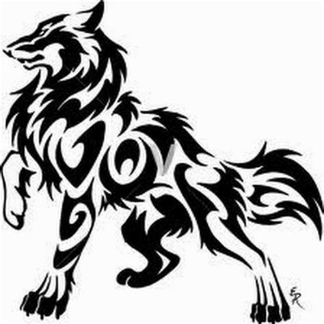 egyptian cross wolf paw tribal best 25 tribal wolf tattoos ideas on tribal