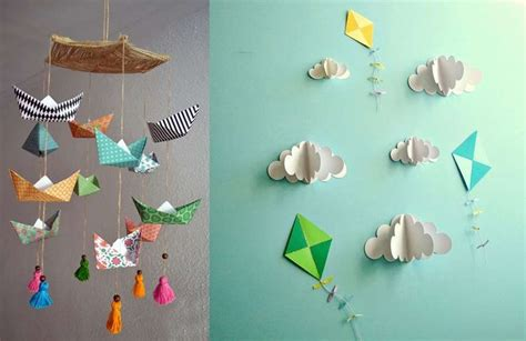 decorar habitaciones fotos decorar habitaciones infantiles con figuras de papel