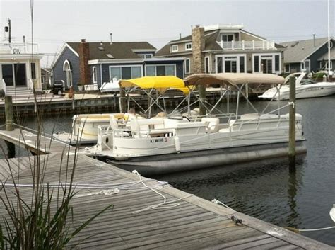 boat rentals lavallette nj pontoon boats available at aqua rentz at ocean beach