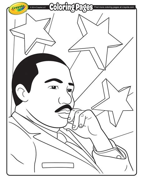 free coloring pages martin luther king jr free printable martin luther king jr coloring page jan