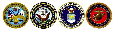 military branch logos u s military recommends calmare therapy for pain