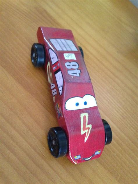 Lightning Mcqueen Pinewood Derby Car Crafts Pinterest Derby Cars Pinewood Derby Cars Lightning Mcqueen Pinewood Derby Car Template