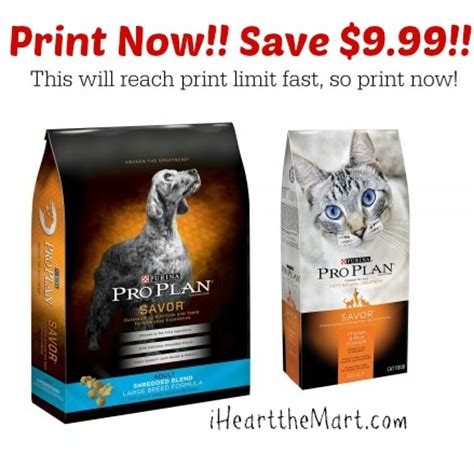 purina pro plan puppy coupons high value pro plan cat food coupons