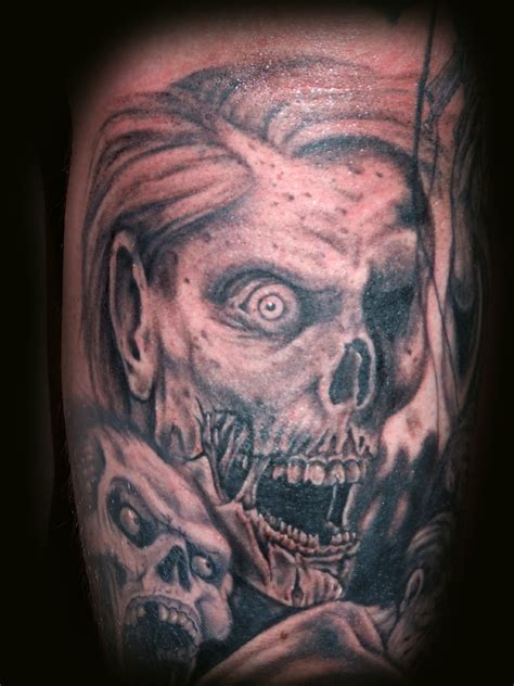 tattoo zombie pictures zombie tattoos