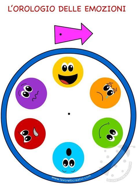 www delle emozioni it orologio delle emozioni per bambini diritti