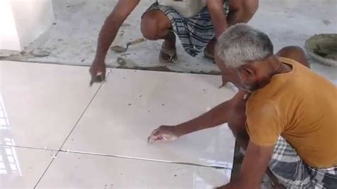 Kajaria 800x800 Tiles laying with spacer   YouTube