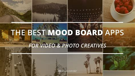 Film Mood Board Template