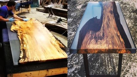 awesome epoxy resin table top diy woodworking creative