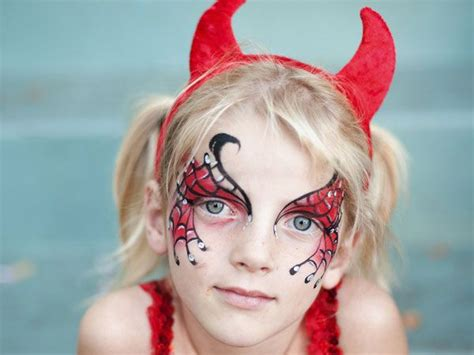 halloween hairstyles devil halloween devil makeup for little girls my devil again