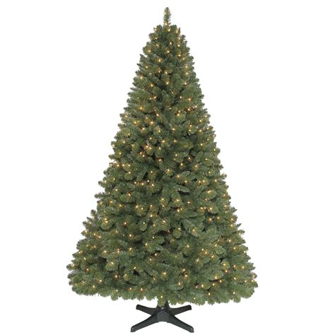 jaclyn smith 7 5ft sherwood pine christmas tree with clear