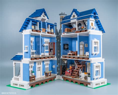 customtoys custom lego victoria house mocthat opens