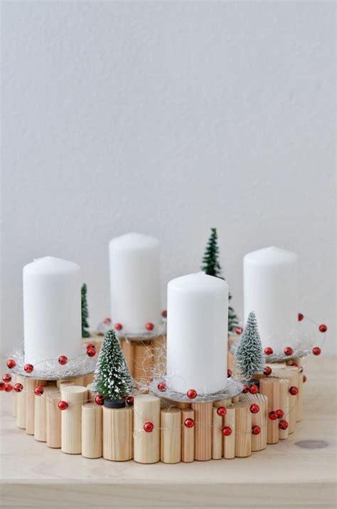 Adventskranz Aus Holz Basteln by 40 Adventskranz Ideen Und Die Geschichte Des Adventskranzes