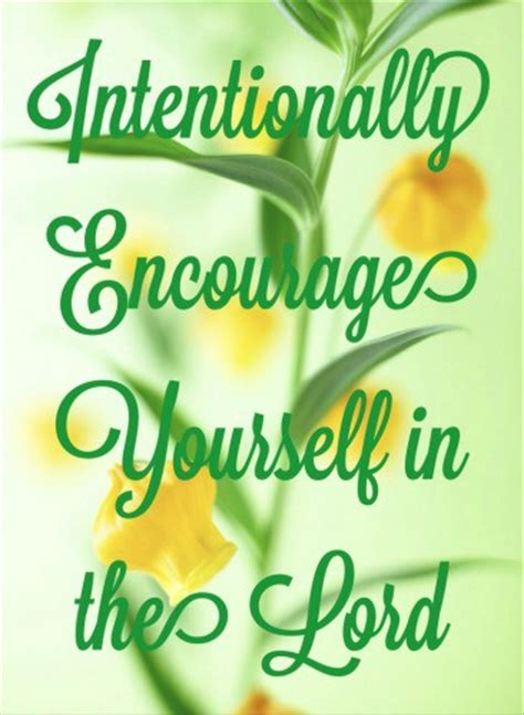 encourage yourself in the lord books intentionally encourage yourself in the lord