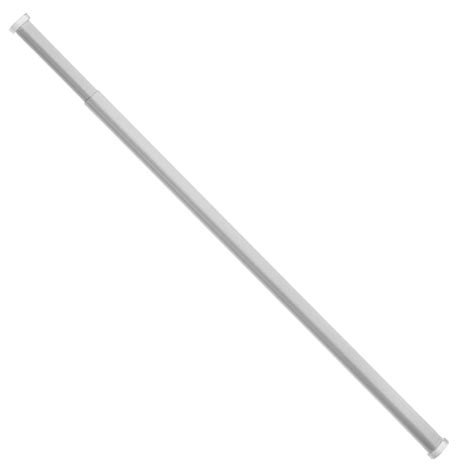 curtain rod white universal oval tension curtain rod white ebay