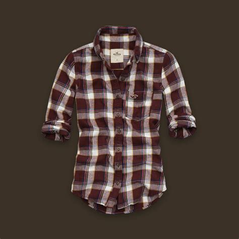 Plaid Shirt By American Eagle s ae plaid boyfriend shirt american eagle outfitters