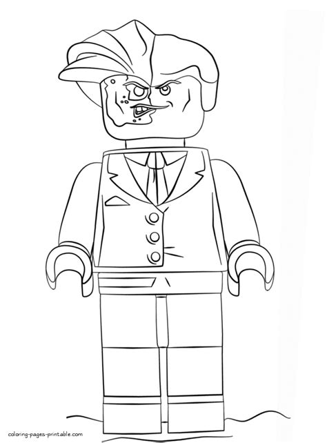 lego batman two face coloring pages two face printable coloring pages coloring pages