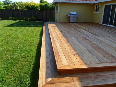 non wood decks 25 best ideas about two level deck on