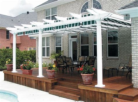 retractable pergola shade covers pergola design ideas