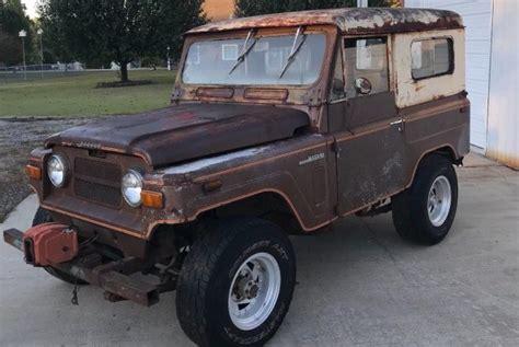 1969 nissan patrol nissan s jeep 1969 patrol k60 hard top