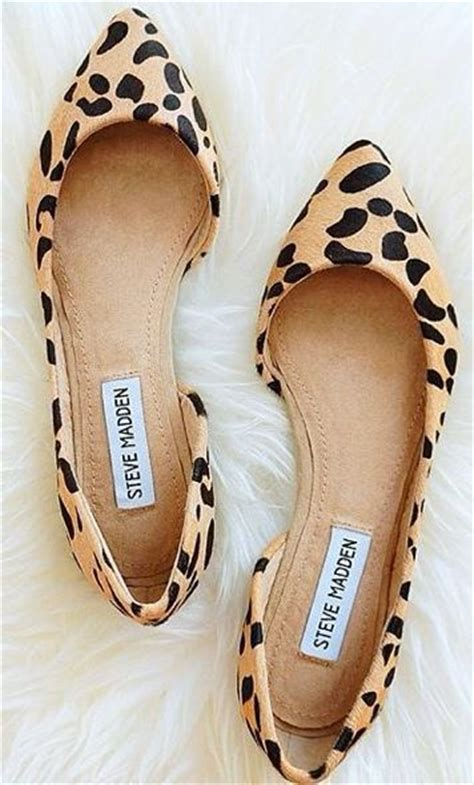 steve madden elusion leopard pony fur d orsay flats flat shoes flats and shoes style