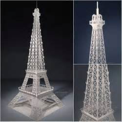 eiffel tower model template eiffel tower crafts