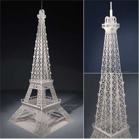 eiffel tower model template papercraftsquare new paper craft eiffel tower paper